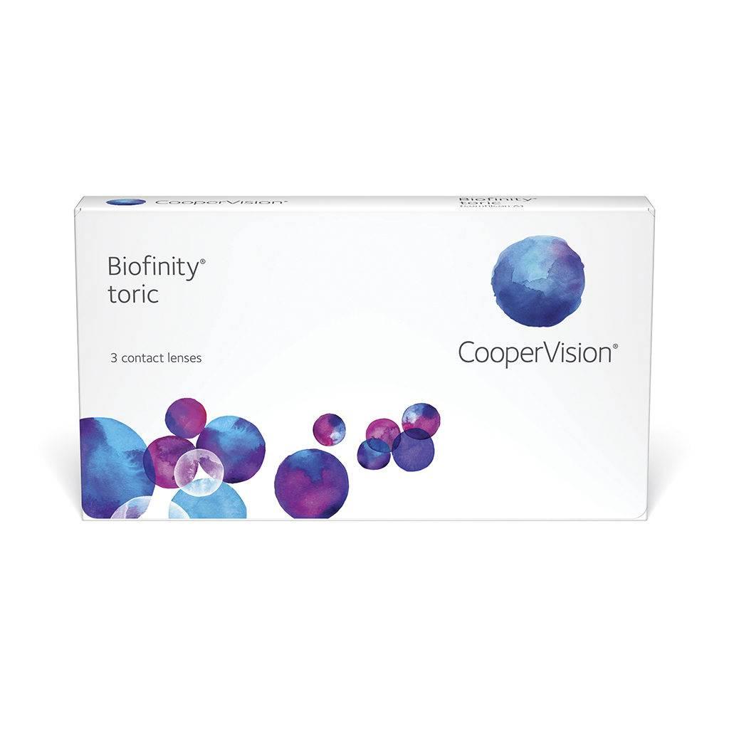 Biofinity - обзор контактных линз, отзывы