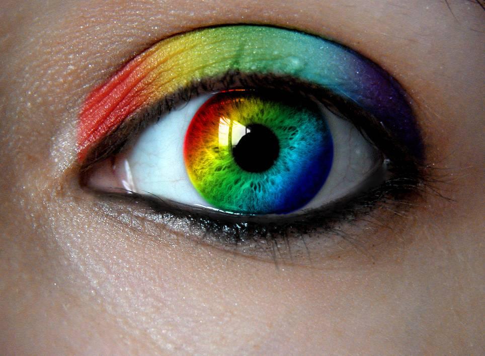 Цветные и радужные пятна перед глазами - что это, причины и лечение