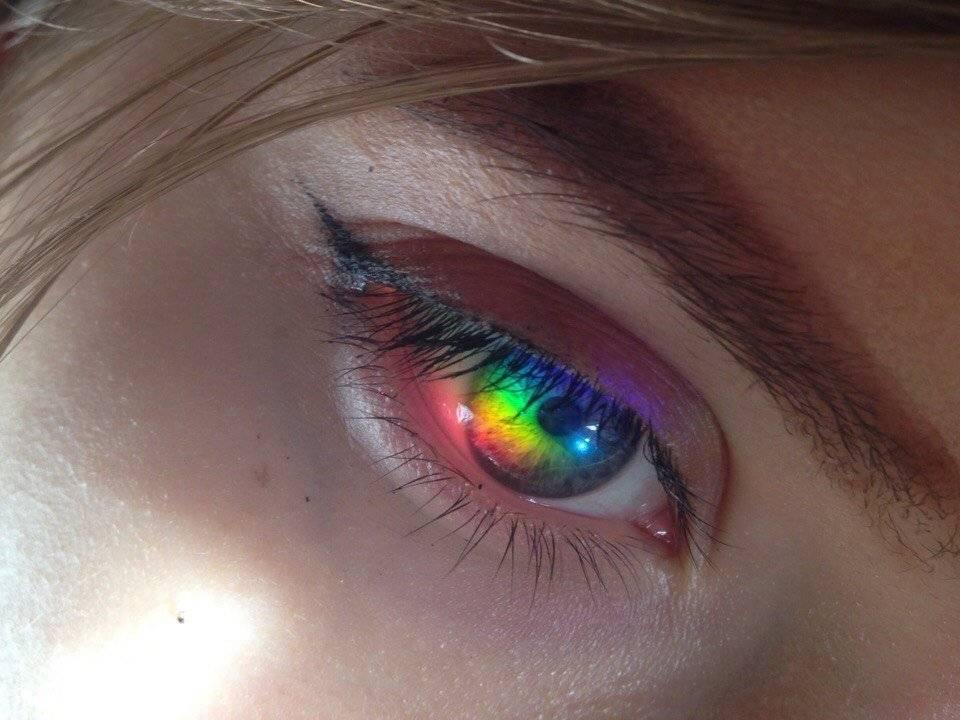 Линзы для глаз со всеми цветами радуги