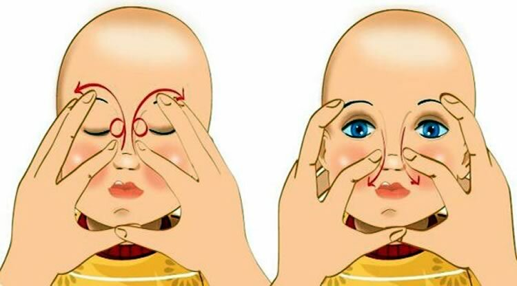 Массаж при дакриоцистите — особенности проведения процедуры для новорожденных