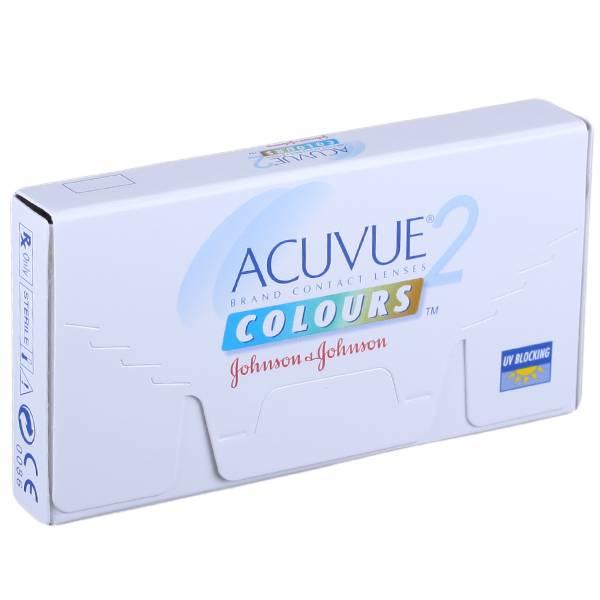 Acuvue 2 colours - обзор цветных линз, отзывы