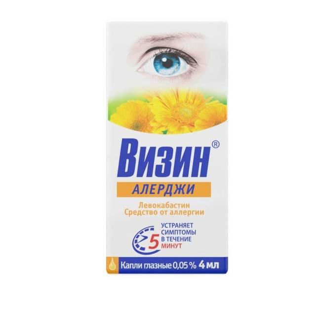 Глазные капли визин: инструкция по применению, цена, отзывы и аналоги - medside.ru