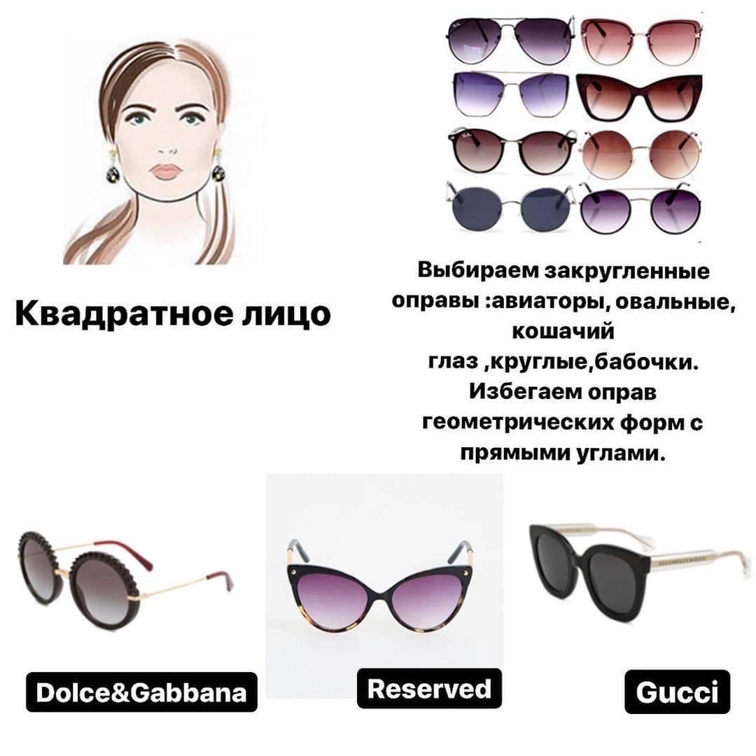 Как подобрать оправу для очков по форме лица