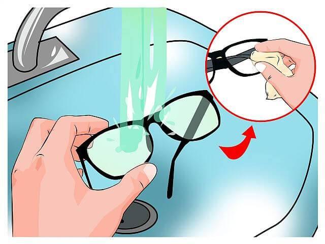 Уход за очками для зрения