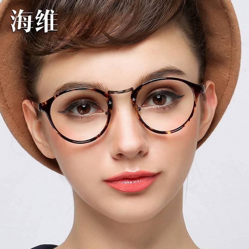 Идеальная форма очков для круглого лица