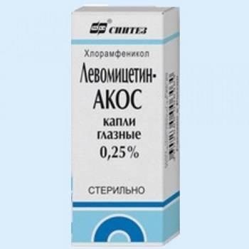 Ципрофлоксацин-акос капли глазные (ciprofloxacin-akos) - инструкция к применению, описание препарата и показания к применению.