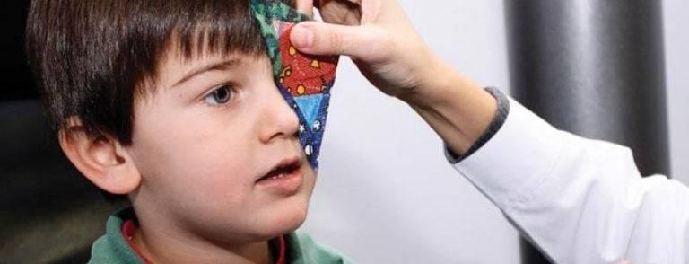 Амблиопия и армия - лечение глаз