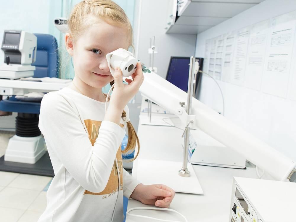 Аппаратное лечение зрения у детей и взрослых