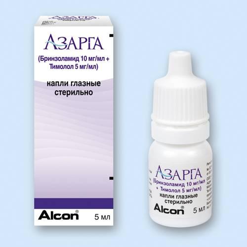Глазные капли азарга: состав, показания к применению, рекомендуемая дозировка, аналоги