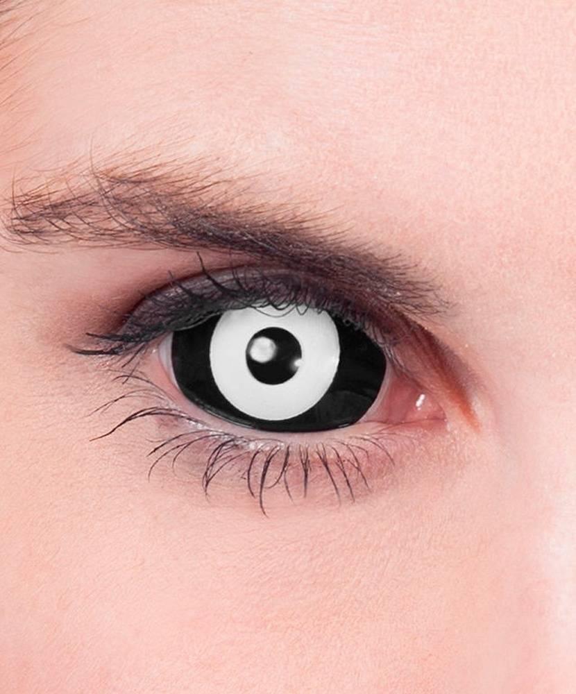 """Черные, белые линзы на весь глаз - """"здоровое око"""""""