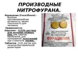 Лечение глазных заболеваний фурацилином