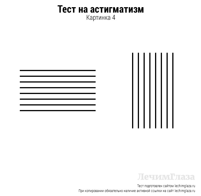 Тест на астигматизм: как проверить есть ли заболевание, картинка звезда, лучи и линии для диагностики