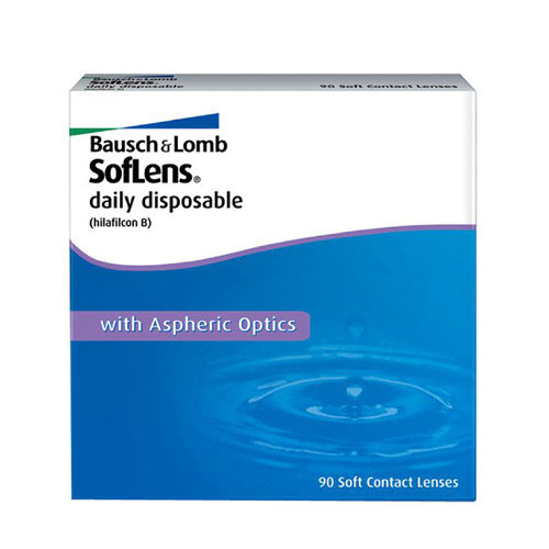 Bausch & lomb soflens daily disposable (30 линз)