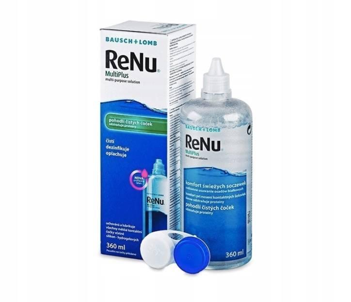 Раствор для линз renu multiplus— отзывы