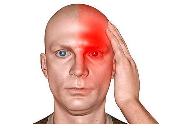 Болит голова и красные сосуды глаз