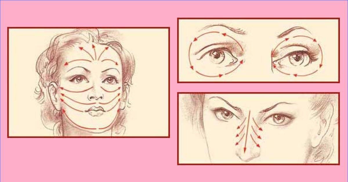 Гимнастика от мешков под глазами. специальные упражнения для лица
