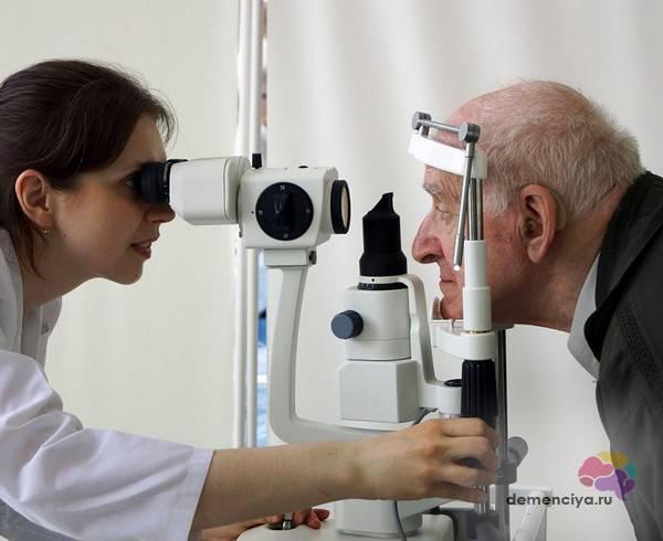 Как проверяют глазное дно