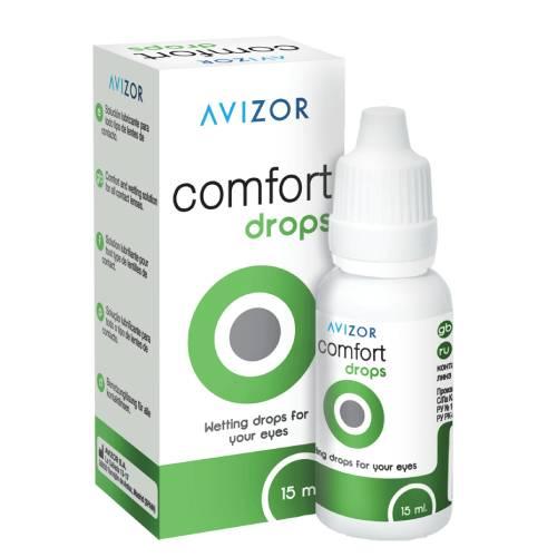 Капли для глаз avizor moisture drops