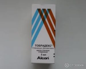 Глазные капли тобрадекс поможет справиться с воспалениями