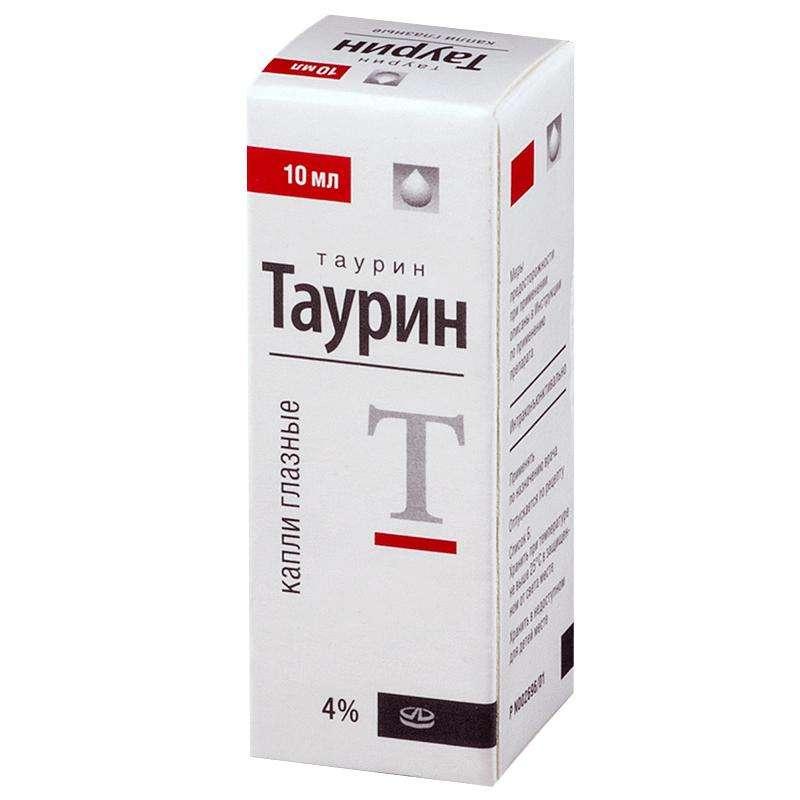 Чем заменить глазные капли таурин