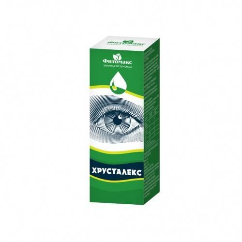 Капли для глаз хрусталин