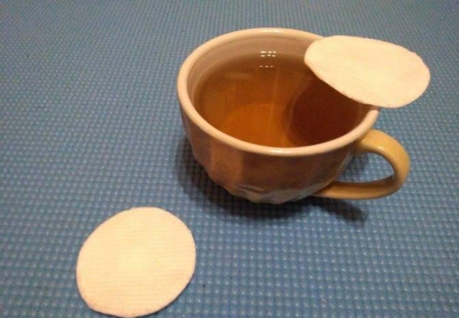 Применение чайной заварки для глаз