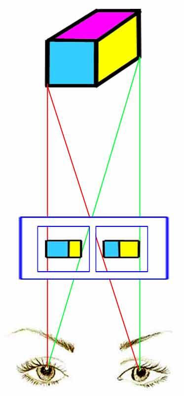 Монокулярное и бинокулярное (стереоскопическое) зрение