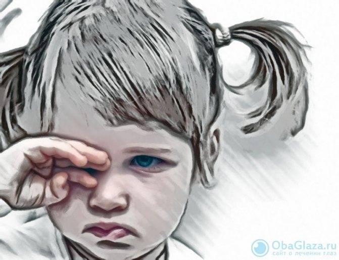 Почему дети слишком часто моргают глазами