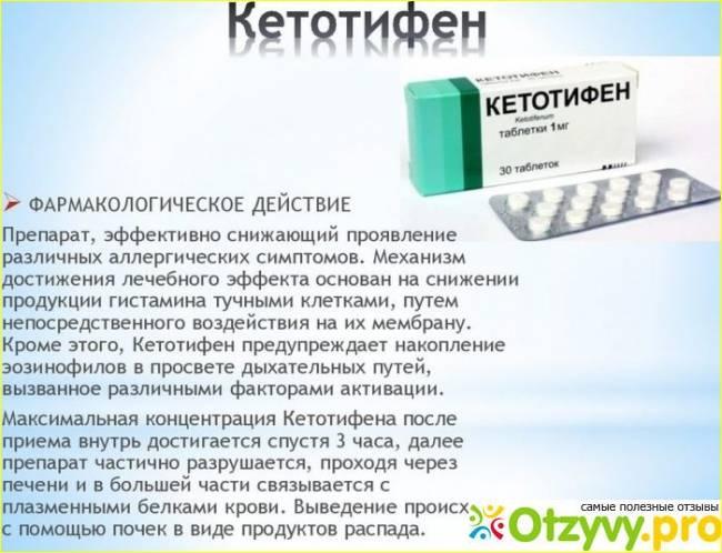 Аналоги кетотифена при астме - врач онлайн
