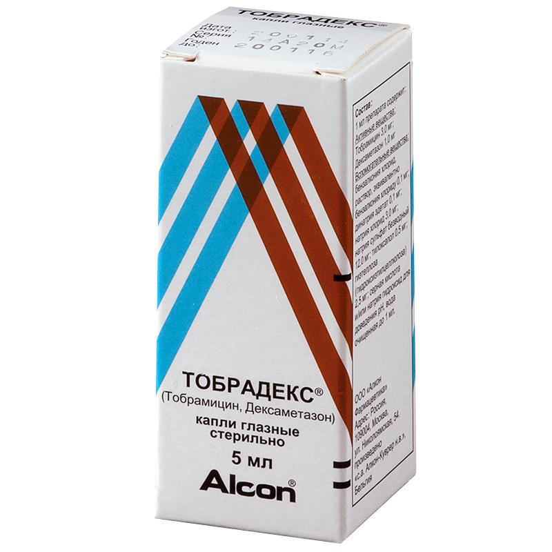 Тобрамицин глазные капли: инструкция по применению, аналоги tobramycin
