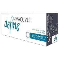 Ежедневные контактные линзы 1-day acuvue define natural sparkle — отзывы. негативные, нейтральные и положительные отзывы