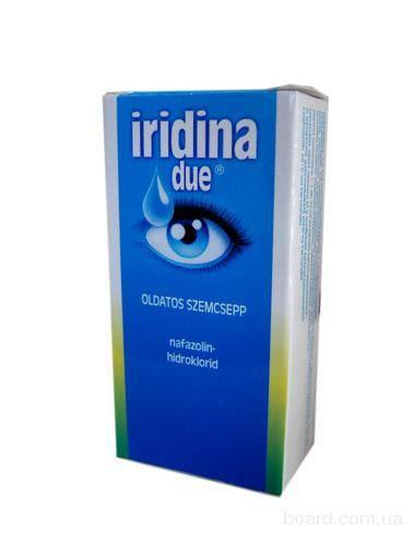 Инструкция по применению глазных капель иридина