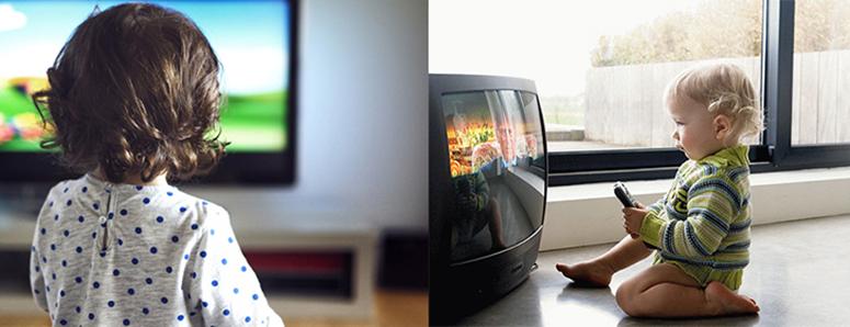 О том, как телевизор влияет на развитие детей, рассказали ученые