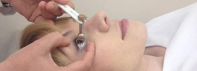 Тонометрия глазного яблока: норма, основные методы