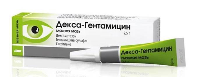 Глазная мазь декса-гентамицин: инструкция и рекомендации по применению, обзор аналогов, цена и отзывы