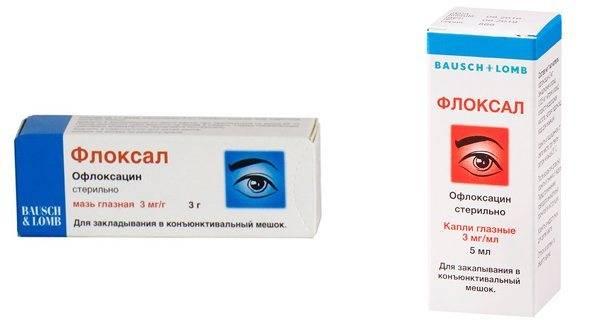 Мазь и капли глазные флоксал: цена, инструкция по применению, отзывы - medside.ru