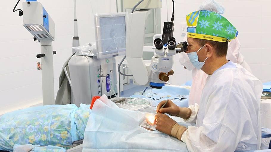 Селективная лазерная трабекулопластика (slt)