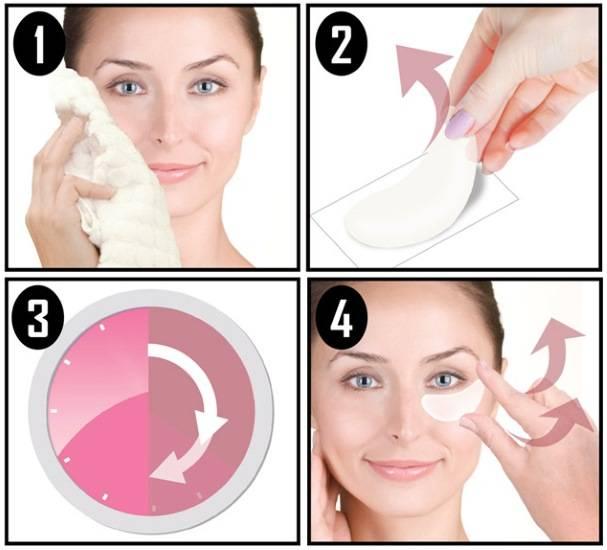 Как правильно использовать гидрогелевые патчи для глаз?