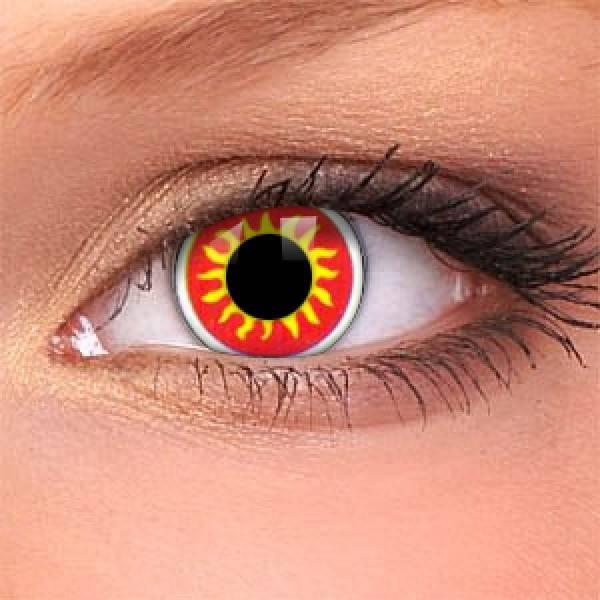 Цветные линзы для зрения – вариации и уход