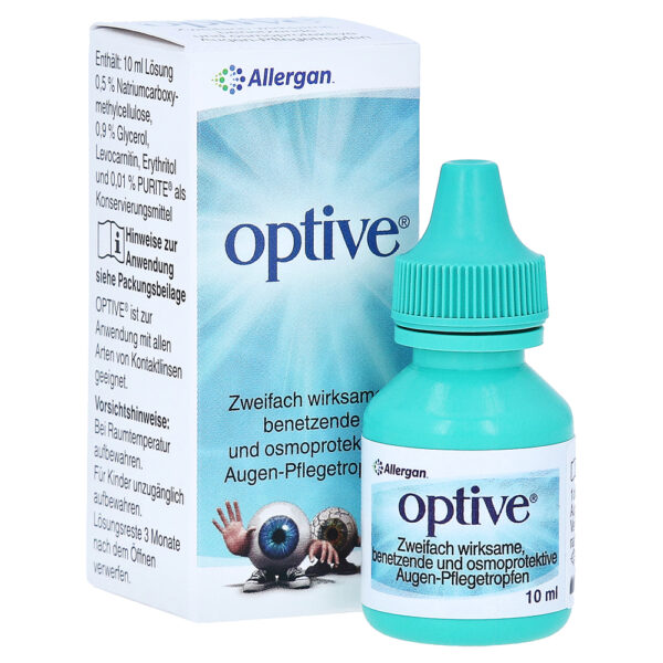 Оптив: глазные капли – инструкция по применению, цена, отзывы, аналоги