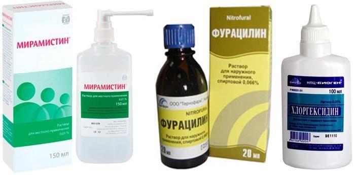 Фурацилин для промывания глаз у новорожденных как разводить