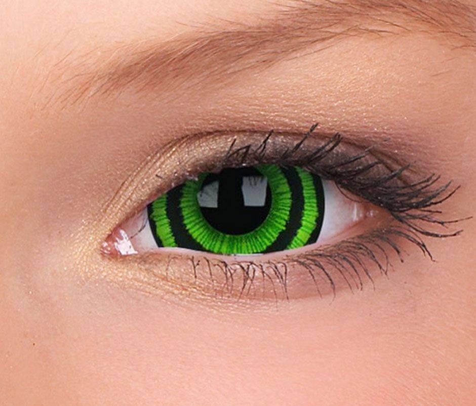 Цветные линзы не для зрения - чем вредны, портят ли глаза, вред и польза, для красоты