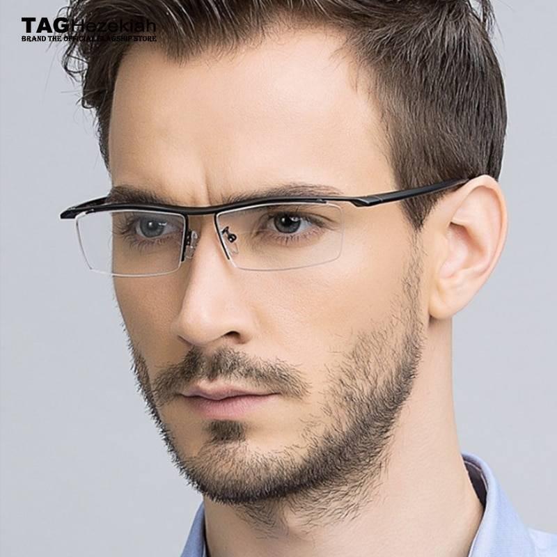 Мужские очки для зрения модные тенденции 2020-2021, 17 фото