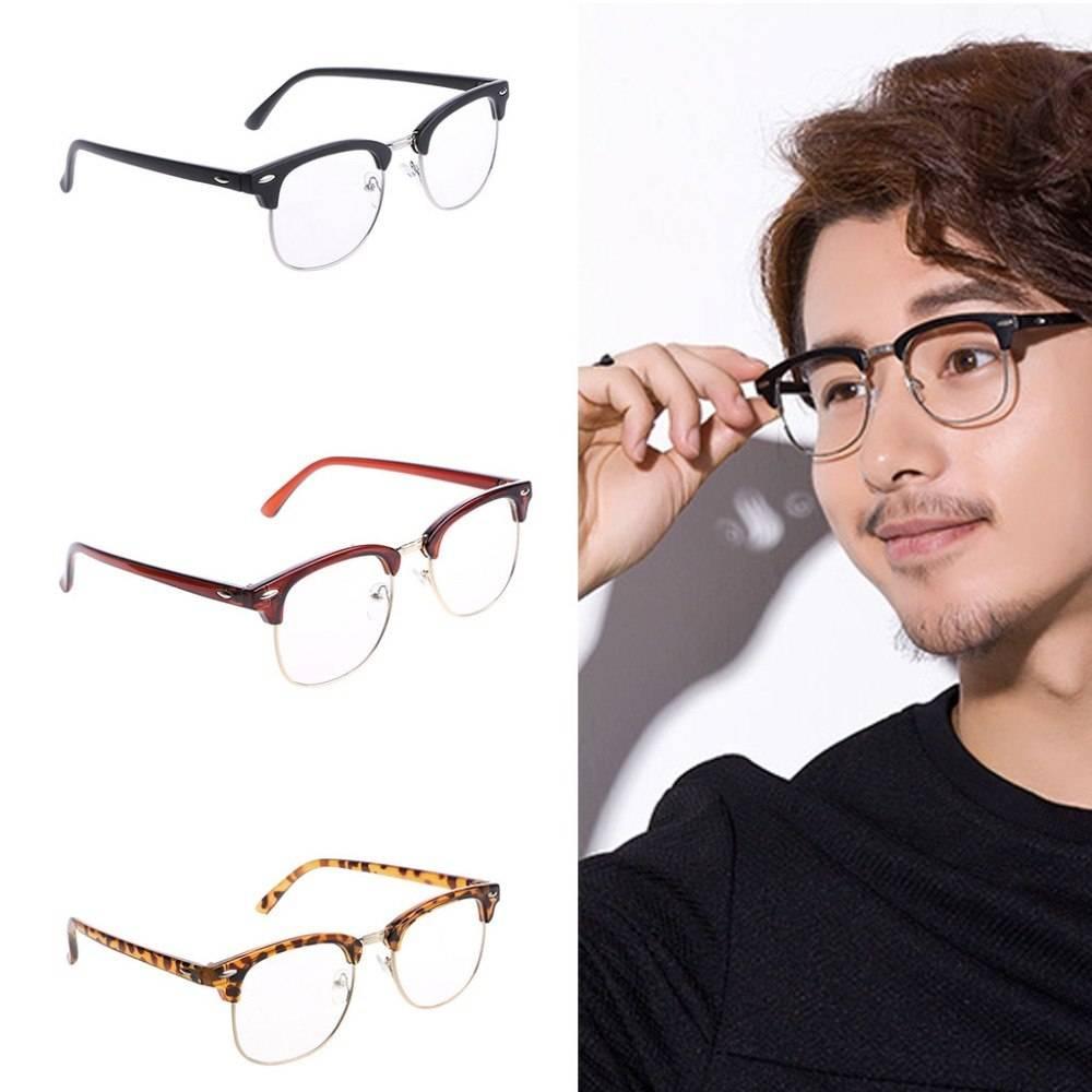 Очки мужские для зрения – как выбрать модные и молодежные, красивые по форме лица