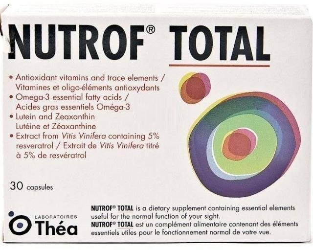Нутроф тотал: инструкция по применению, аналоги oculistic.ru нутроф тотал: инструкция по применению, аналоги
