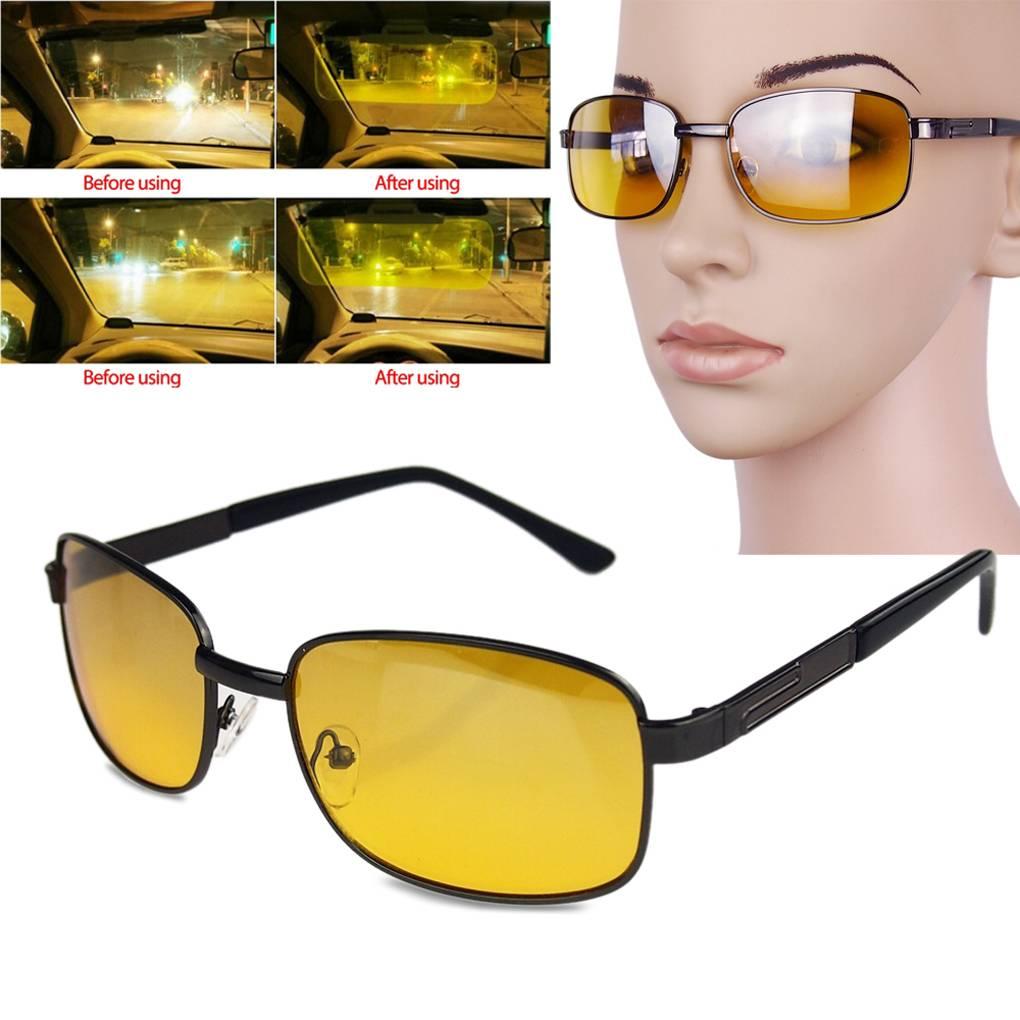 Желтые очки позволяют лучше видеть за рулём в ночное время. правда или ложь?