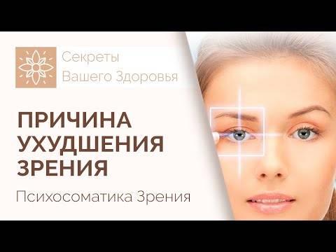 Психосоматика: глаза и глазные болезни