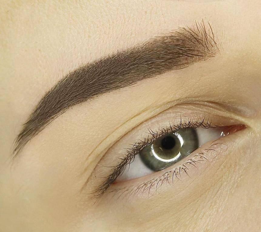 Татуаж бровей волосковым методом — в чем особенности процедуры, фото до и после