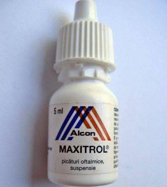 Макситрол - инструкция по применению, цена, отзывы и аналоги