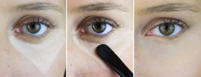 Как скрыть, замазать, маскировать синяки под глазами: макияж